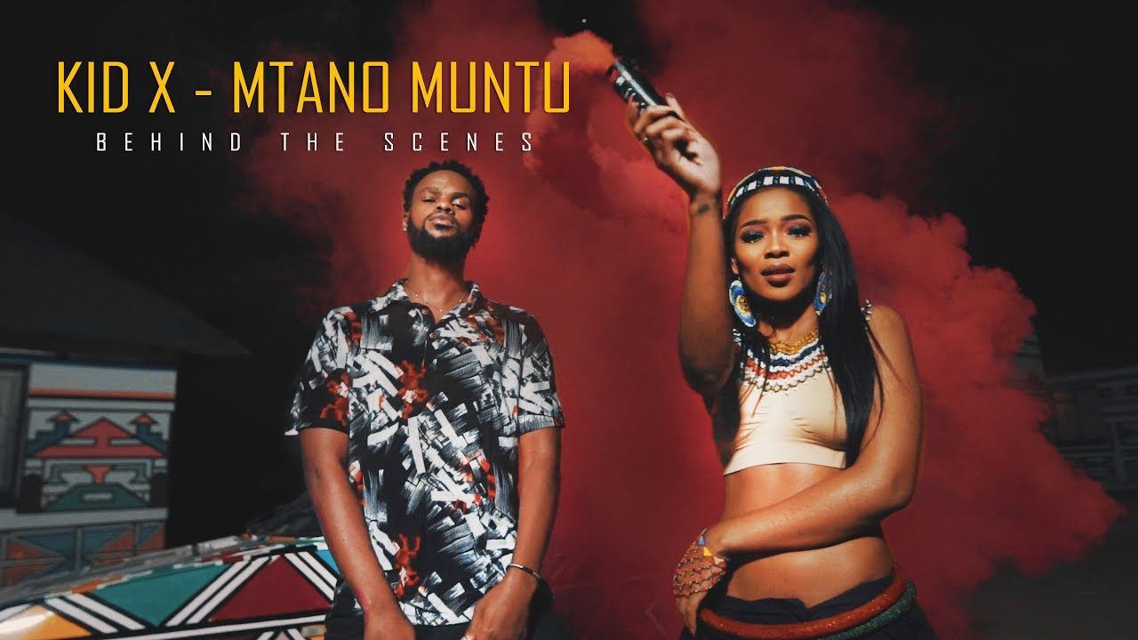 KiD X - Mtan 'Omuntu ft. Shwi Nomtekhala, Makwa | Behind the Scenes #1