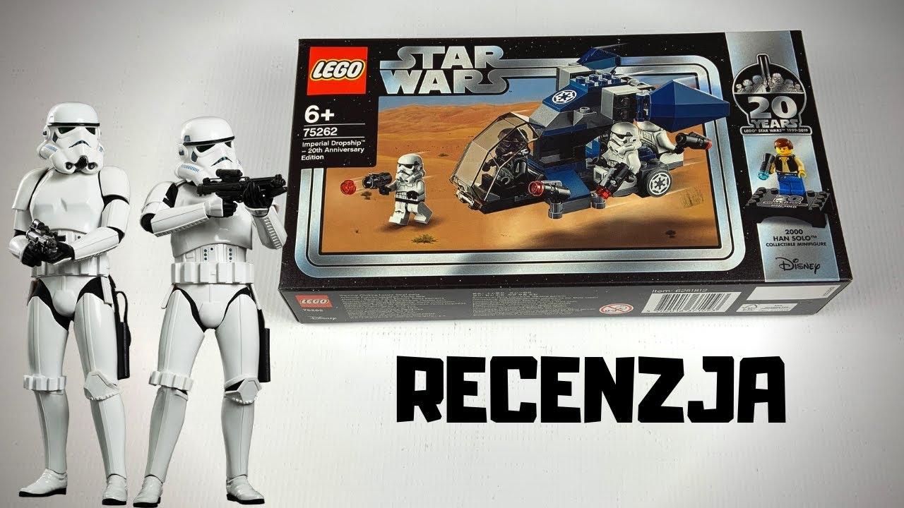 Lego Star Wars 75262 Statek Desantowy Imperium Recenzja Youtube