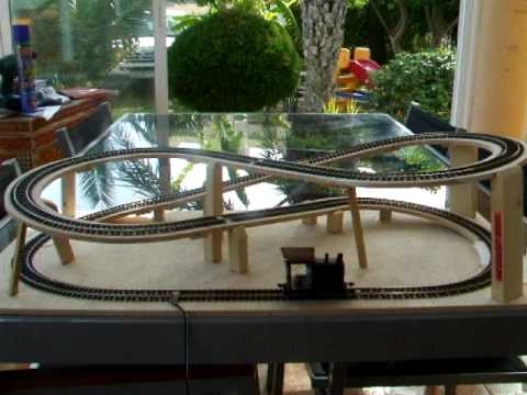 Project model train micro layout 0n30 / 0e