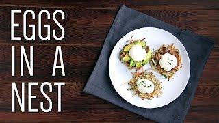 Egg in a Nest  Breakfast Recipe