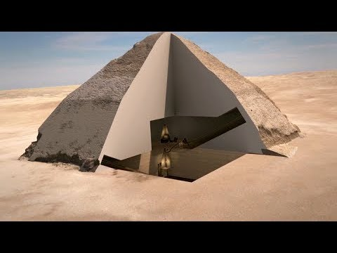 Cosmic particles reveal what the inside of a pyramid looks like