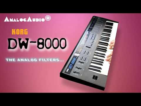 KORG DW-8000 Synthesizer 1985  | HD DEMO | NEW PATCHES