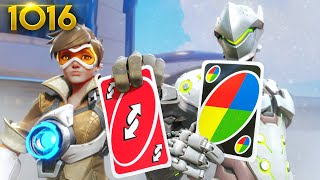 Playing UNO IN OVERWATCH!? *NEW MODE*  | Overwatch Daily Moments Ep.1016 (Funny and Random Moments)