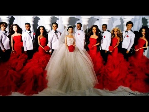 Kim Kardashian & Kanye West Wedding | Barbie Edition