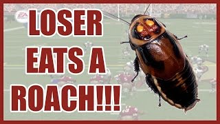 LOSER EATS A LIVE ROACH!! - Madden NFL 2002 (PS2) | #ThrowbackThursday ft. @Juice_Hoops