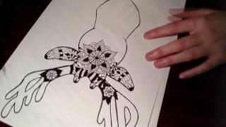 Speed drawing - Animal Mandala