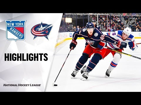 Dan Rivers - Blue Jackets Drop Third In A Row With Loss To New York At Nationwide