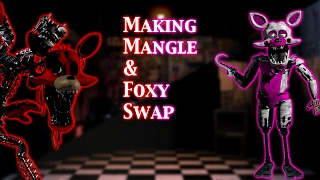 (FNAF | Speed Edit) Making Mangle & Foxy Swap