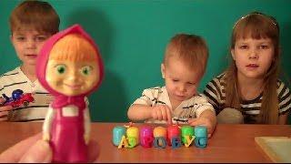 Развивающее видео для детей 3 лет! Учим буквы! Новое слово!