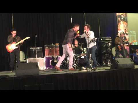 Jensen Ackles - Rob Benedict -I don