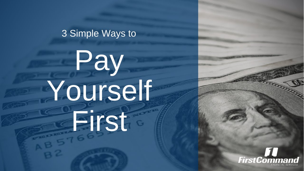Personal Finance Boot Camp Pay Yourself First Youtube