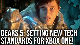Gears 5 Analysis: A New Technological Standard For Xbox One?