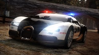 Need for Speed Hot Pursuit - Police Bugatti