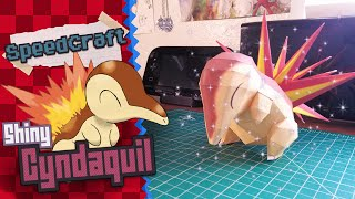 Pokemon Papercraft ~ Shiny Cyndaquil~