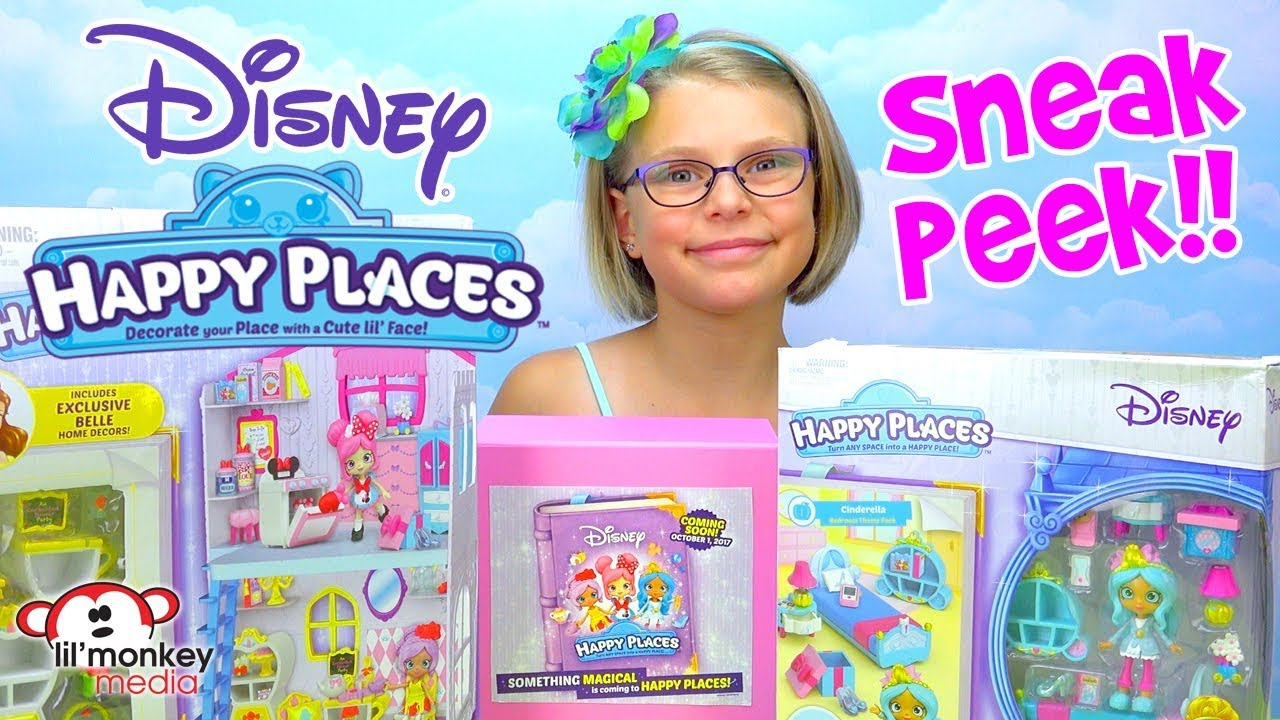 DISNEY HAPPY PLACES - Sneak Peek! Happy Townhouse ...