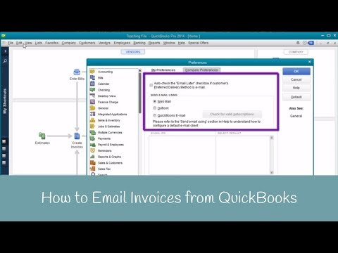 how to email invoices from quickbooks full download