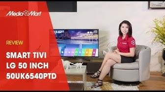 Smart Tivi LG 50 inch 50UK6540PTD, 4K Active HDR, ThinQ AI
