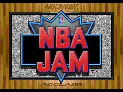 NBA Jam (Sega Genesis) - Team Select music