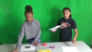 How to Make Eclipse Viewing Box | The Ciera and Olivia Show