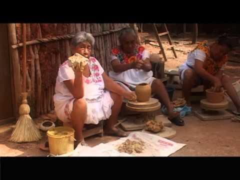 Artesan As De Alfarer A Y Cer Mica De Campeche Youtube