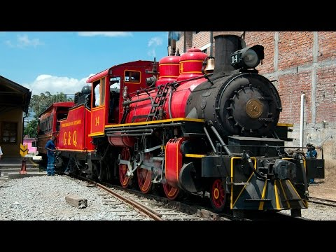Steam in Ecuador 2015 - The Guayaquil & Quito Railroad