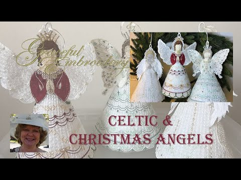 Graceful Embroidery's Celtic & Christmas Angels