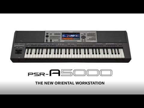 PSR-A5000 Overview | ملخص للPSR-A5000 | PSR-A5000  -  برسی اجمالی