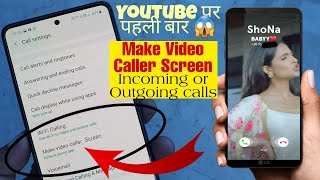 Incoming & outgoing calls Hidden Tips & Tricks || Set Video Caller Ringtone Every Android Smartphone screenshot 4
