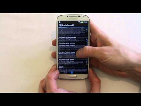 Gravity Screen Off Android Review automatic on or off for your display