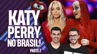 AQUECIMENTO PARA O SHOW DA WITNESS THE TOUR DA KATY PERRY NO BRASIL!  - PARTE 2   Virou Festa