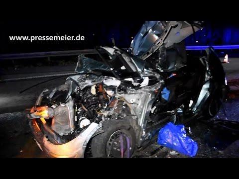 BAB 5 - St. Leon-Rot - Rhein-Neckar-Kreis - Verkehrsunfall mit schwerverletzter Person