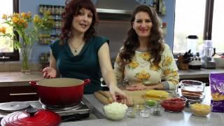 Go Veggie! Cheesy Black Bean Tortilla Soup By Spork Foods - Vegan