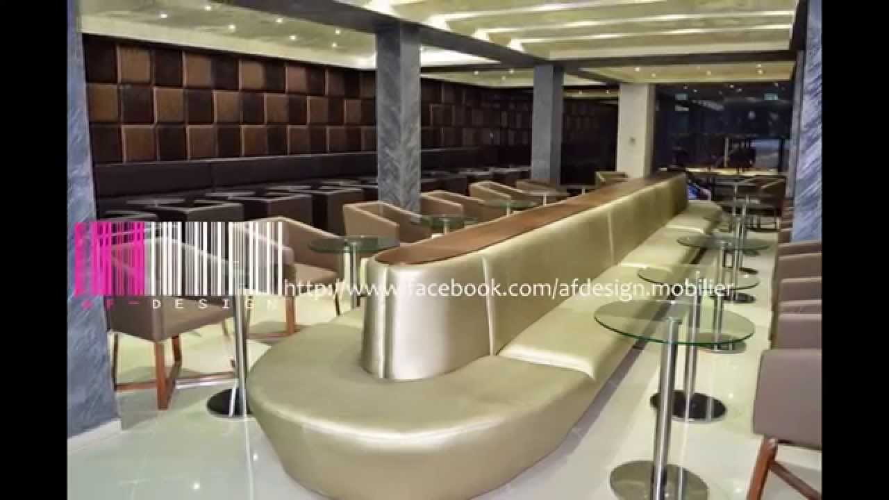 Decoration Interieur Snack Salon De Thé Zarzis By Af Design - Youtube