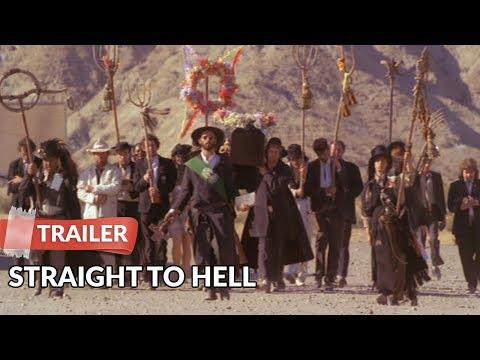 Straight to Hell 1987 Trailer | Sy Richardson | Joe Strummer | Dick Rude