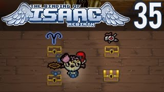 An Overpowered Run (The Binding of Isaac: Rebirth Gameplay - Episode 35)