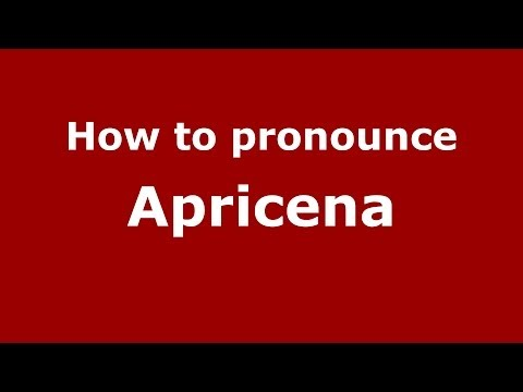 How to pronounce Apricena (Italian/Italy) - PronounceNames.com