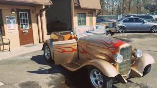 1932 Ford Roadster tricked out at High-end Car Stereo and Performance