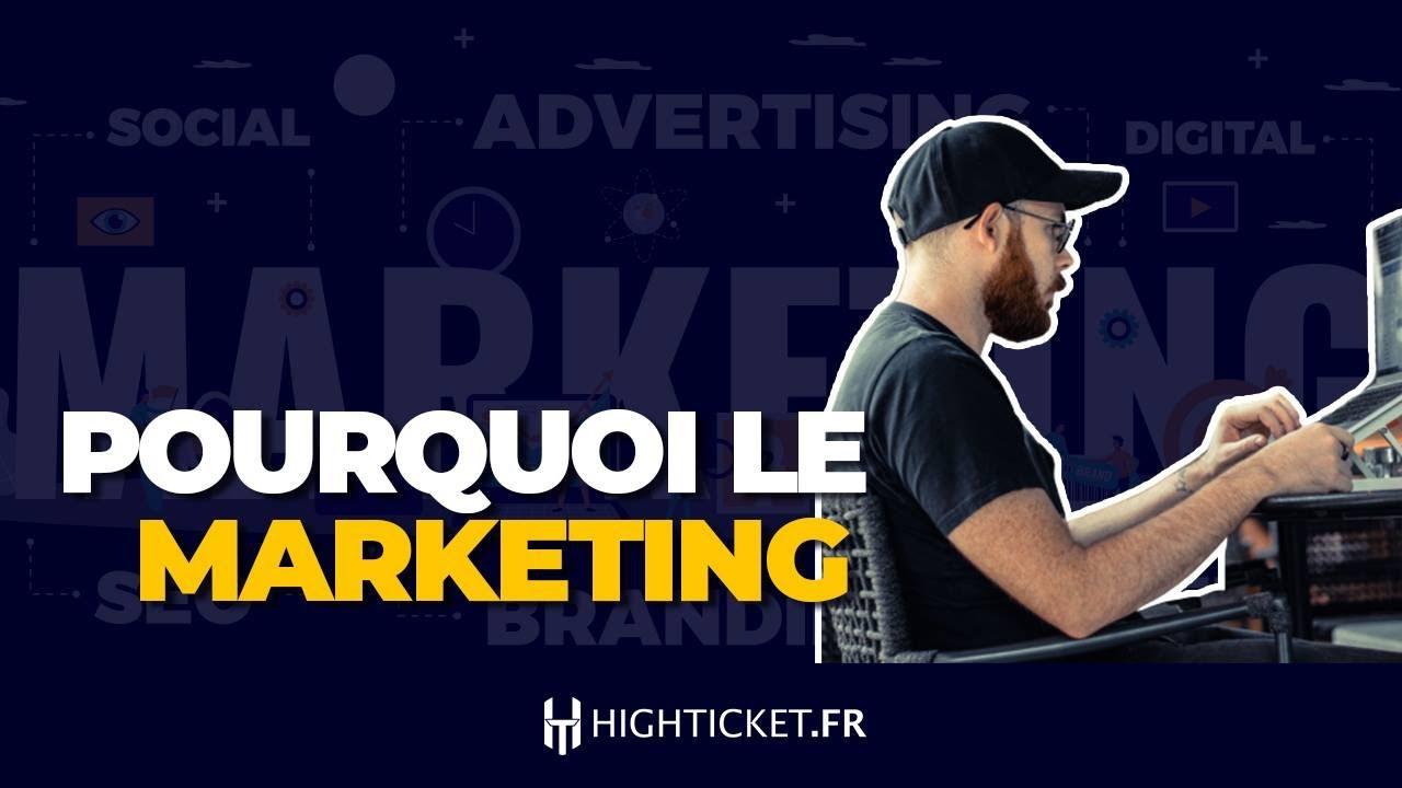 Pourquoi je me suis lancé dans le marketing ?