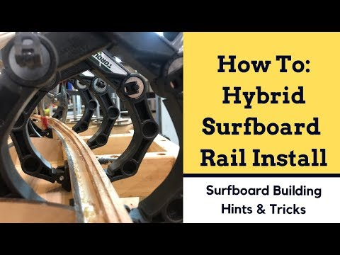 "How To Install The ""Hybrid"" Wooden Surfboard Rail - Periodic Surf Co"