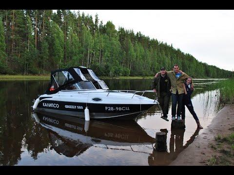 Поход на катере из Петербурга на Онежское озеро 'ОЧЕНЬ ЭПИЧЕСКОЕ ПУТЕШЕСТВИЕ'