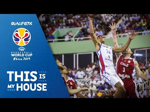 Dominican Republic v Chile - Full Game - FIBA Basketball World Cup 2019 - Americas Qualifiers