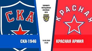 «СКА-1946» – «Красная армия» | (Париматч МХЛ 20/21)