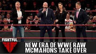 McMahons Take Over Raw