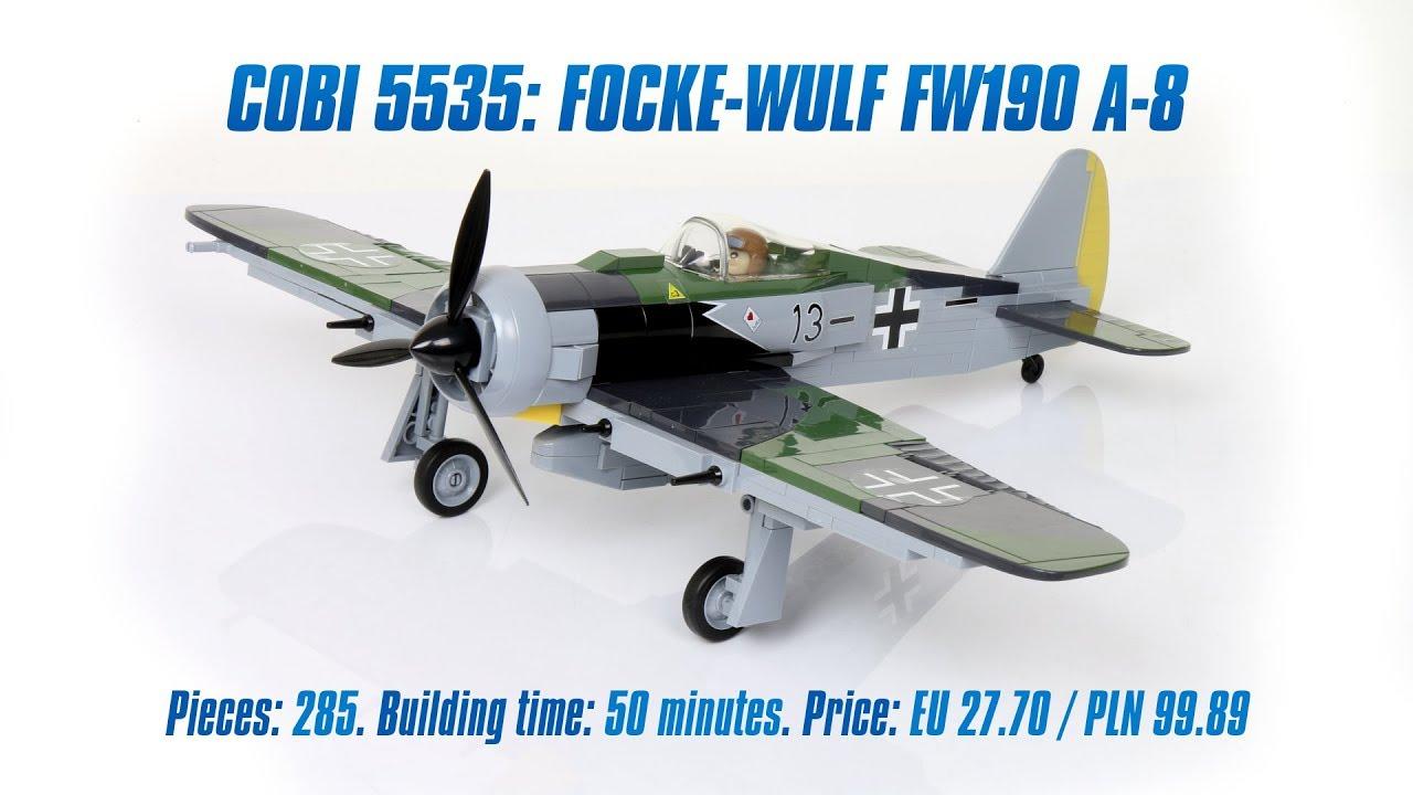 Cobi 5535 Focke-Wulf FW-190A-8