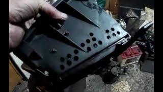 Снимаем радиатор печки на Ниве  (часть 2)