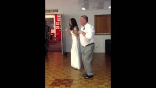 Father Of The Bride FUNNY Dance! Gary Hendry & Erin Stone