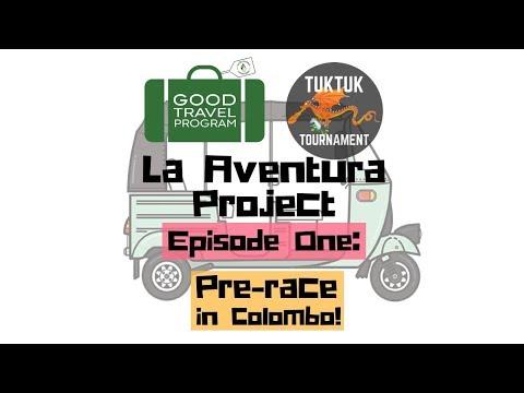 Team Good Travel in the Sri Lanka Tuk Tuk Tournament: Episode One - pre-race in Colombo!