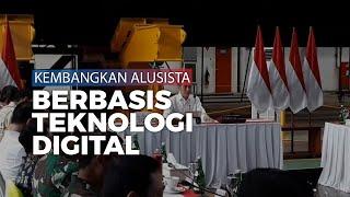 Jokowi Minta Prabowo Kembangkan Alusista Berbasis Teknologi Digital