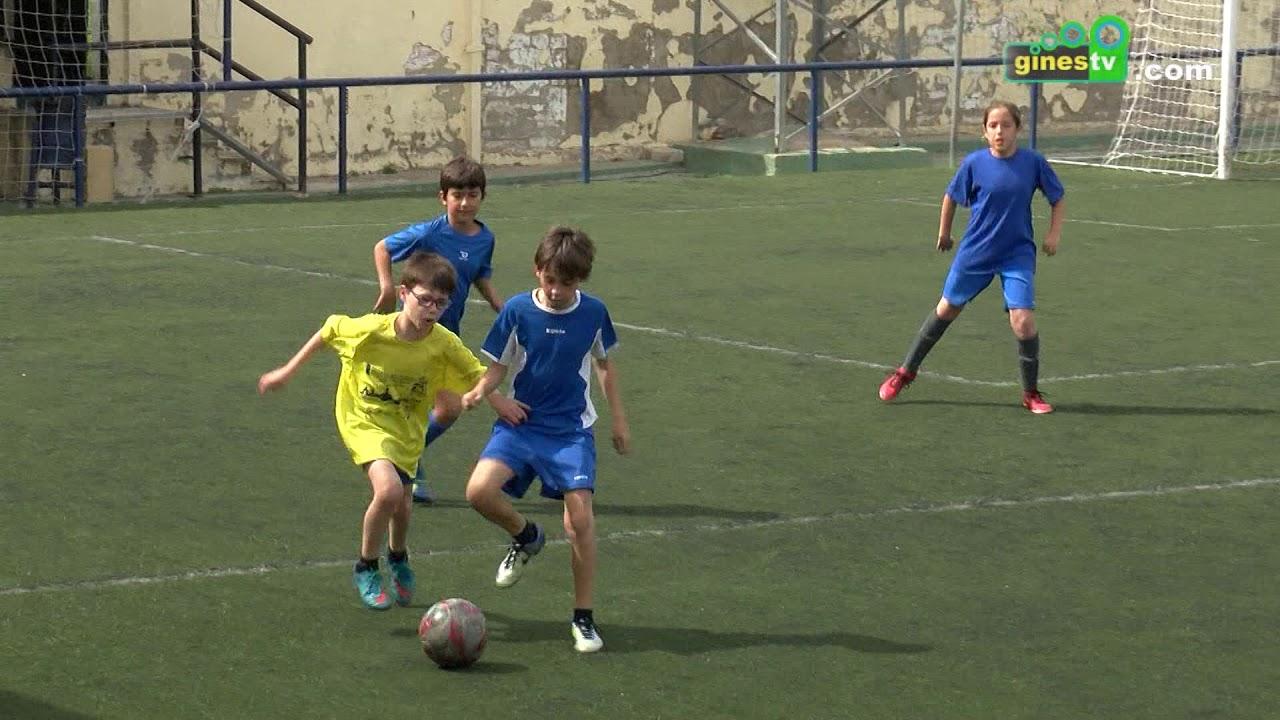 Concluye la Liga Interna de Fútbol 7 de Gines, en la que han participado 150 niños y niñas