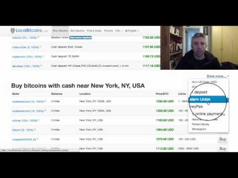 Buy Bitcoins With Paypal (Local Bitcoins Option)